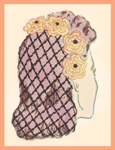 Crochet Hat Snood Hats - 4-WAY FLOWERED SNOOD CROCHET HAT PATTERN