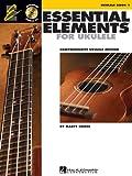 Essential Elements Ukulele Method Book 1, Marty Gross, 1480321699