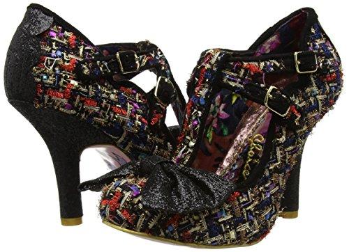 De Irregular Sprinkles Punta Mujer Con Choice black Zapatos Cerrada Negro A Tacón Sundae xrEgIqnr
