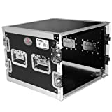 ProX Cases T-8RSS 8U - 8 Space Amp Rack - Road Gig Ready Flight Case