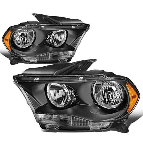 - For Durango Pair Black Housing Amber Side Headlight/Lamps Left+Right