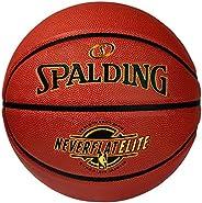 Spalding NeverFlat Elite Indoor/Outdoor Basketball