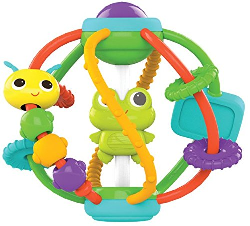 51ECYe0WjXL - Bright Starts Clack and Slide Activity Ball