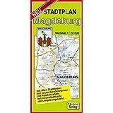 Stadtplan Magdeburg: Maßstab 1:22500