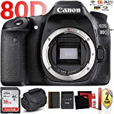 Canon EOS 80D DSLR Camera (Body Only) + 2 Year Warranty