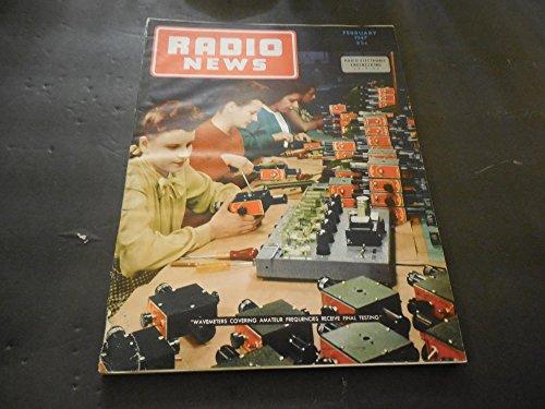 Radio News Feb 1947, Crystal Diode, Wavemeters