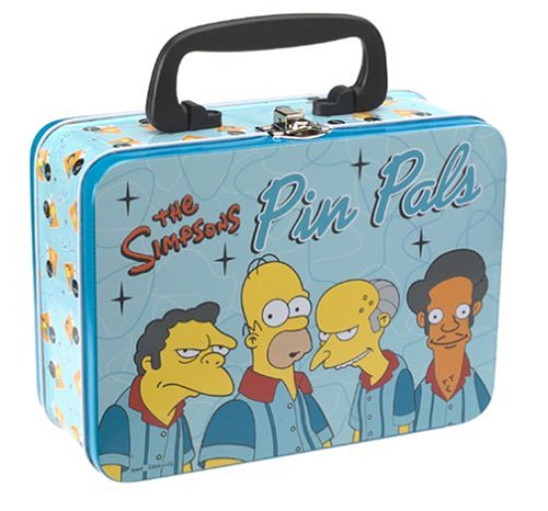 NECA Simpsons Mini Lunchbox Pin Pals (Mini The Simpson)