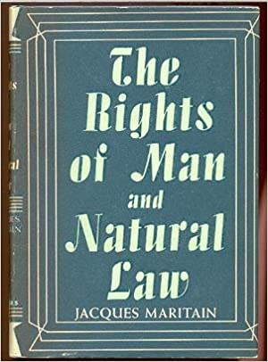 Ilmaisia kirjoja ladattavaksi tietokoneella The Rights of Man And Natural Law by Jacques Maritain PDF DJVU FB2