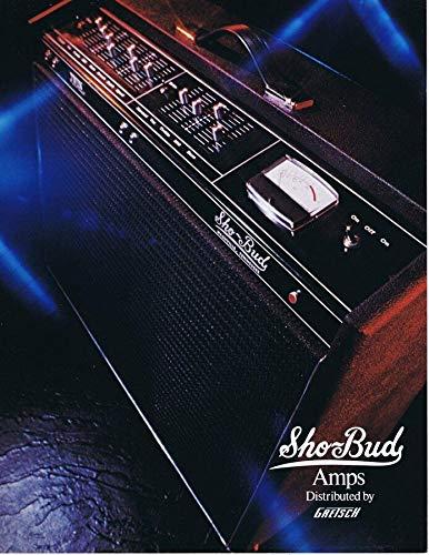 ORIGINAL Vintage 1972 Gretsch Sho Bud Amps Catalog