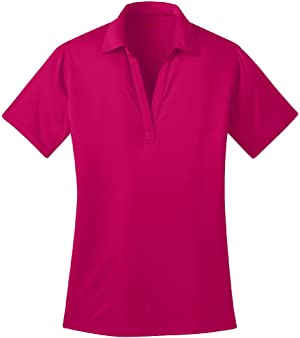 Joe's USA Ladies Silk Touch Golf Polo's in 16 Colors