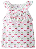 Gerber Graduates Baby Girls' Sleeveless Top with Ruffles