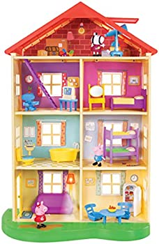Peppa Pig Lights and Sounds Playset Family Home