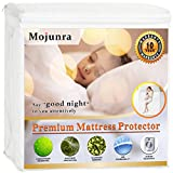 Waterproof Mattress Protector - Mojunra Hypoallergenic Waterproof Mattress Protector Fitted Sheet Mattress Encasements (queen)