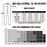 MUMUWU Women Printed Yoga Pants Sport Workout