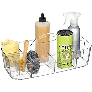 mdesign house cleaning supplies organizer. Black Bedroom Furniture Sets. Home Design Ideas