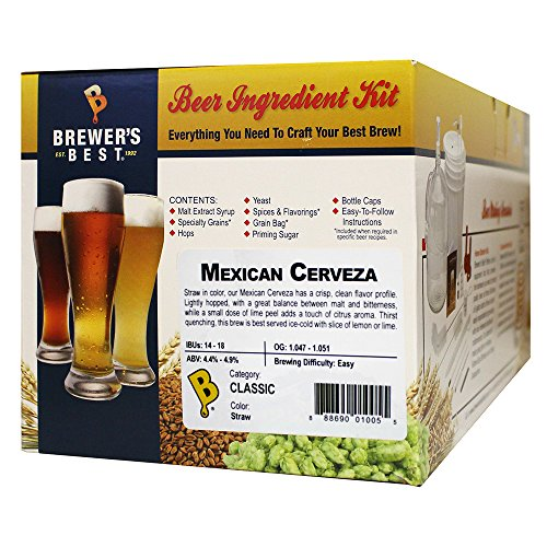 Brewer's Best Home Brew Beer Ingredient Kit - 5 Gallon (Mexican -