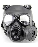WorldShopping4U Dummy Anti Fog Gas Face Mask M04 w Turbo Fan Airsoft paintbal protection des engins