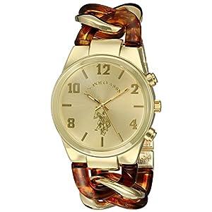 U.S. Polo Assn. Women's USC40174 Analog Display Analog Quartz Two Tone Watch