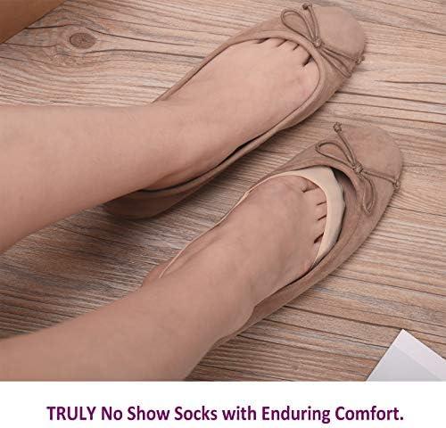 Lot Of 6Pairs Minicci From Payless Beige Non Slip Women/'s Half Socks M//L