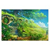 Scottshop Custom Hobbits Path The Lord Of The Rings Gallery Wrapped Canvas ...
