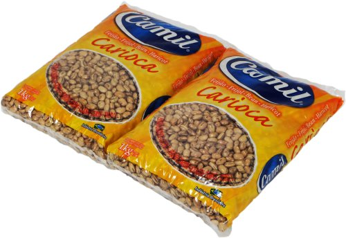 Camil - Pinto Bean - 35.27 oz (PACK OF 02) | Feijão Carioca - 1kg by Pinto beans