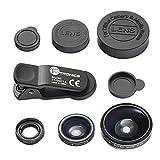 iPhone Lens, TaoTronics Phone Camera Lens Clip Kit for Universal Smartphone