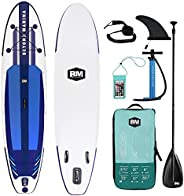 BEYOND MARINA Inflatable Paddle Boards Featherlight® Stand Up Sup Paddleboard Surf Board, Premium Carbon Paddl