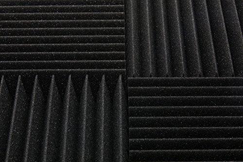 "6 Pack 12"" X 12"" X 2"" acoustic sound foam studio panels 15 sharp wedges - Remove Noise & Enhance Sound Quality by-beefoam - Image 4"