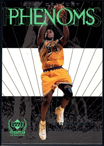 (Basketball NBA 1999-00 Upper Deck Century Legends #66 Shaquille O'Neal NM-MT Lakers )