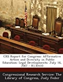 Crs Report for Congress, Jody Feder, 1295025418