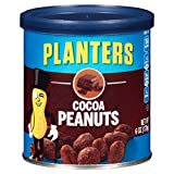 Planters Flavored Peanuts, Cocoa, 6 Ounce Canister (Pack of 8)