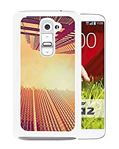 New Beautiful Custom Designed Cover Case For LG G2 With Skyscrapers At Noon Look Up (2) Phone Case