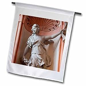 Danita Delimont - Statues - Austria, Wachau Valley, Melk Abbey interior-EU03 CMI0018 - Cindy Miller Hopkins - 18 x 27 inch Garden Flag (fl_75272_2)