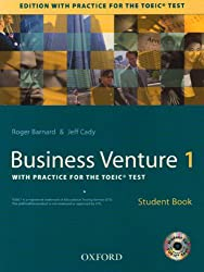 Business Venture 1 : With practice for the TOEIC test, Student Book (1CD audio)