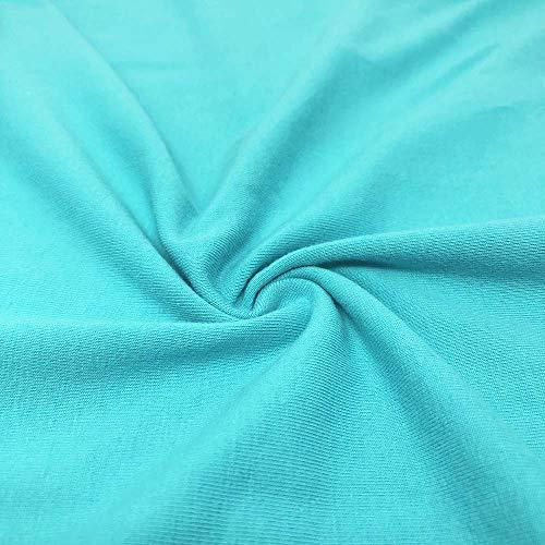Cotton Jersey Lycra Spandex Knit Stretch Fabric 58/60