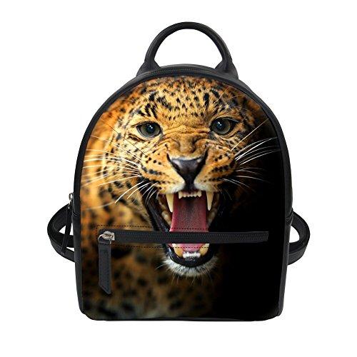 Zaino Advocator Packable Donna rosso Leopardo Il Lupo Borsa pUrwq0Tp