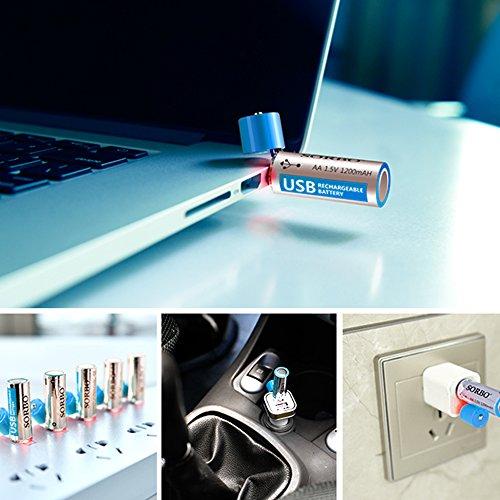 Buy emergency usb aa charger