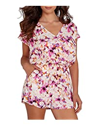 Coral Bay Cover-Up Romper