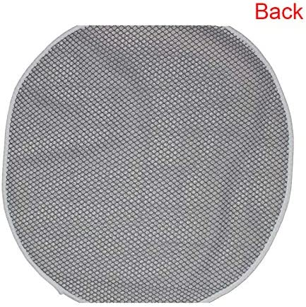 DIY Cushion Carpet Floor Mat Latch Hook Rug Kits Cover Pillow Canvas Hand Craft Round Sofa Seat Crocheting Adults Kids Parents Girls Gift 20x20 inch Cat