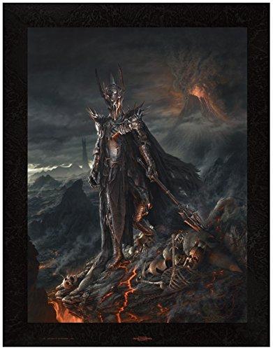 The Dark Lord Sauron Canvas Giclee Art print from VanderStelt Studio