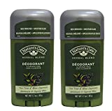 Nature's Gate Herbal Blend Tea Tree and Blue Cypress Deodorant (Pack of 2) With Peppermint Leaf Extract and Spearment Leaf Extract, 1.7 oz Each