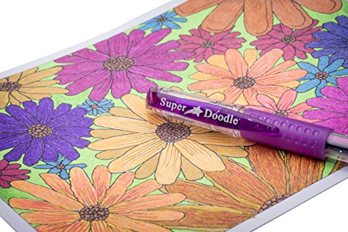 Arts and Crafts 80 Unique Glitter Colors Super Doodle Glitter Gel Pens Set
