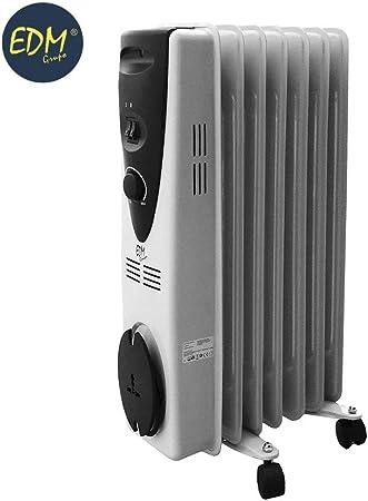 Radiador de Aceite 1500 W - 7 elementos: Amazon.es: Hogar