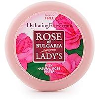 BioFresh Rose of Bulgaria fuktighetskräm med rosvatten, D-pantenol, vitamin E och jojobaolja/återfuktande ansiktskräm…