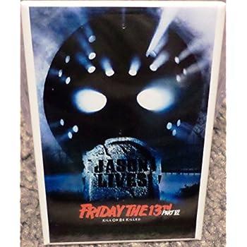 "Jason Voorhees Friday the 13th 2/"" x 3/"" MAGNET Refrigerator Locker Style 2"