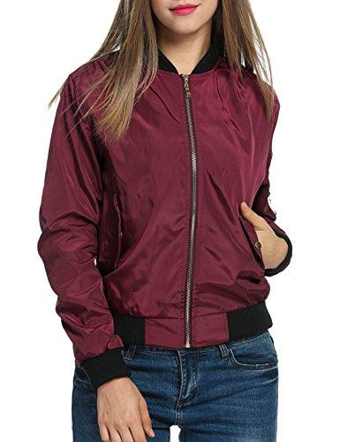 Zeagoo Womens Casual Zip Up Jacket product image