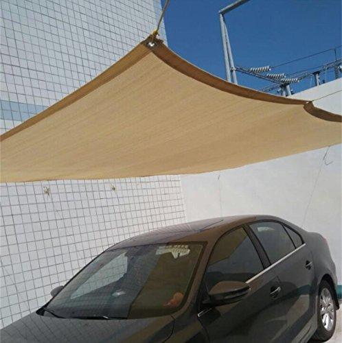 Originline Shade Cloth Panel 6x16ft Beige 90% UV Resistant Outdoor Sun Screens Privacy Fence with Grommets for Plants/Pergola/Patio/Lawn/Garden/Greenhouse/Carport/Porch (Grommet Port)