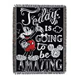 "Disney's Mickey Mouse, ""Amazing Day"" Woven Tapestry"
