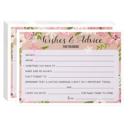 Marriage Advice and Well Wishes Cards for the