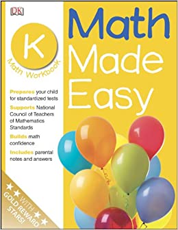 Math Made Easy: Kindergarten Workbook (Math Made Easy): DK ...